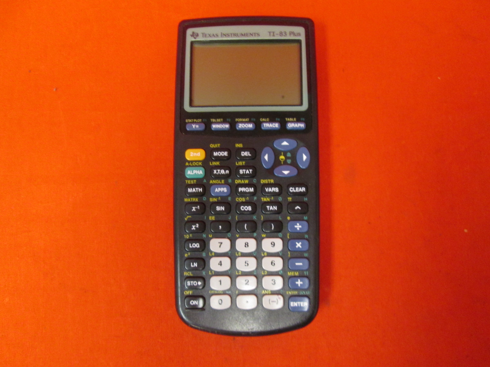 Texas Instruments TI-83 Plus Programmable Graphing Calculator