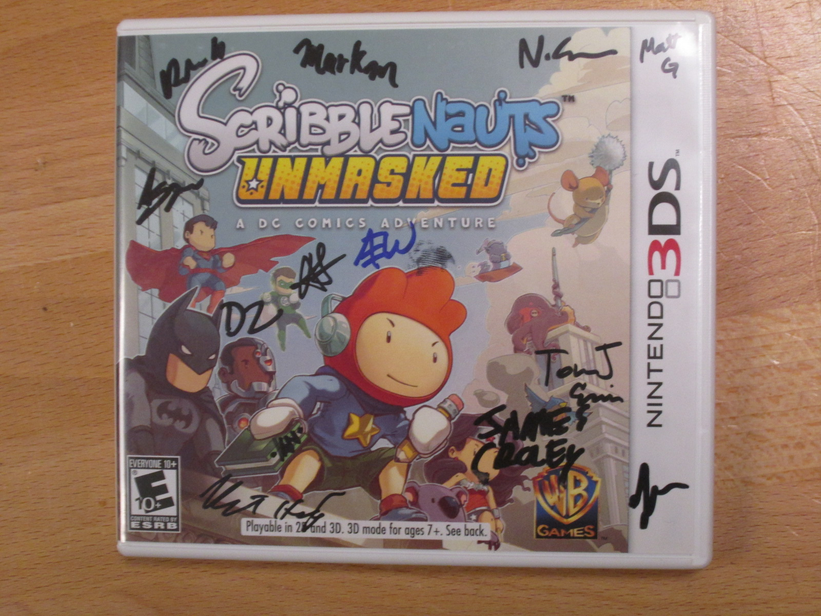 Scribblenauts Unmasked A DC Comics Adventure Nintendo For 3DS