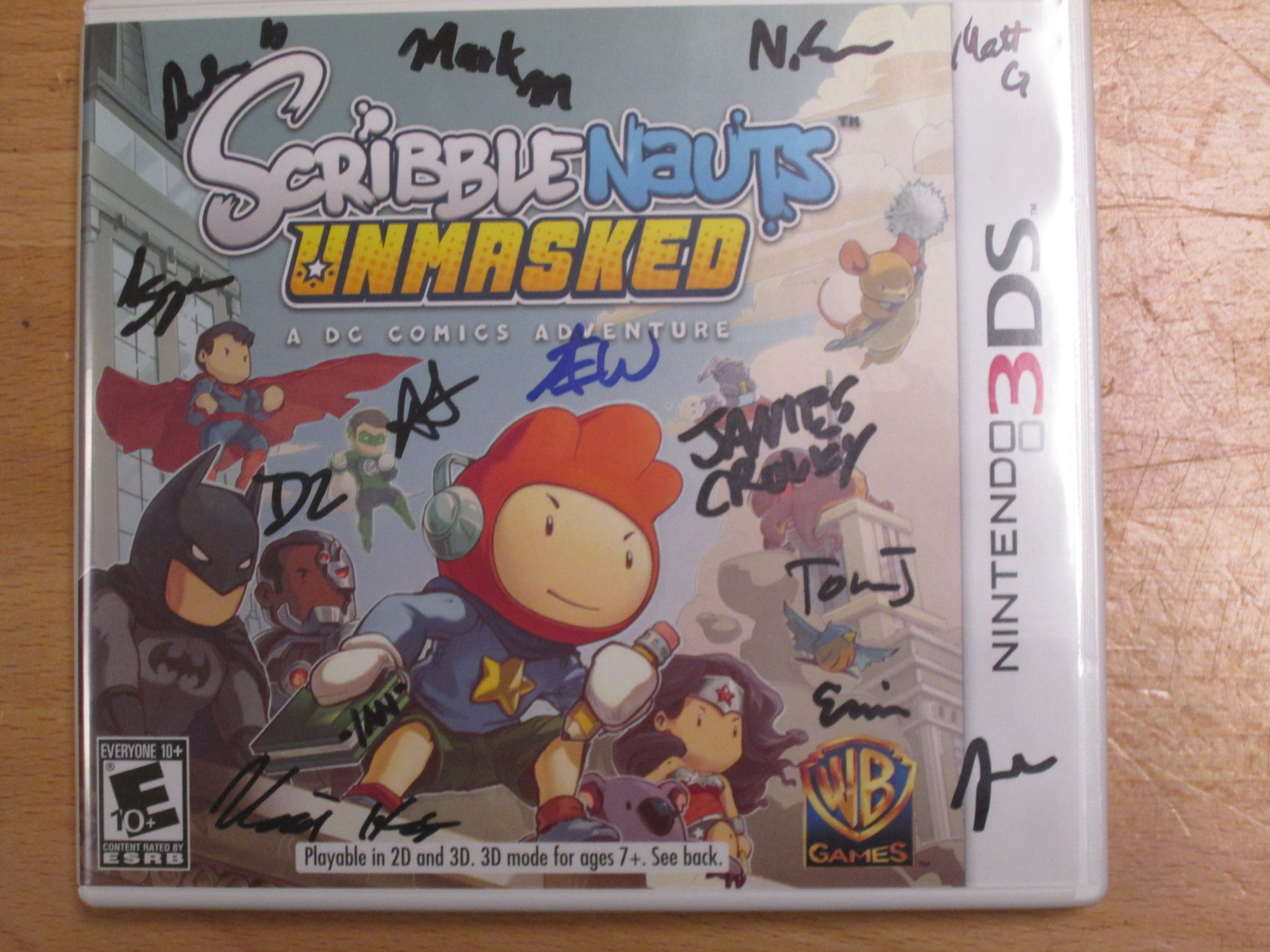 Image 1 of Scribblenauts Unmasked A DC Comics Adventure Nintendo For 3DS