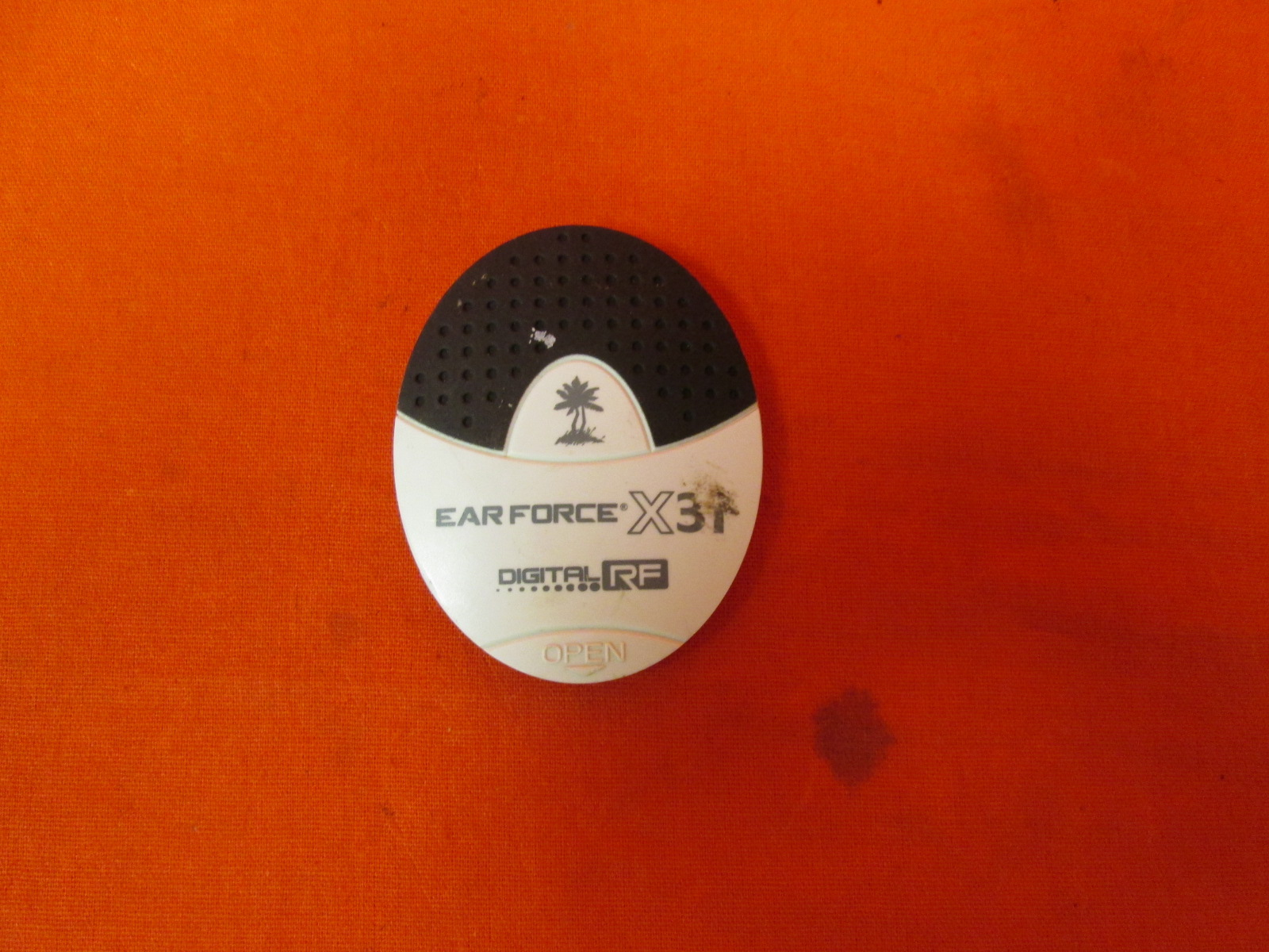 Replacement Battery Cover For Turtle Beach Ear Force X37 Headset