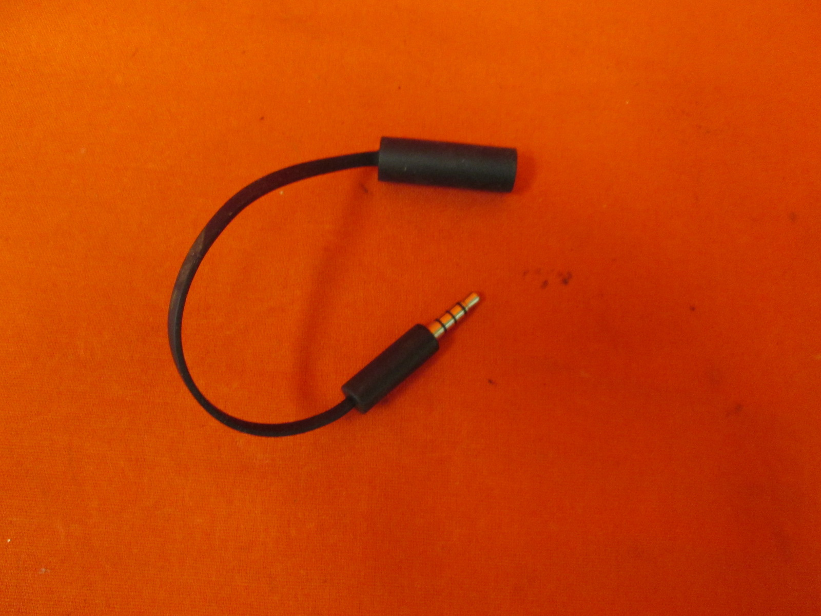 Image 0 of Replacement Stereo Headset Controller Adapter Cable Cord 2.5MM To 3.