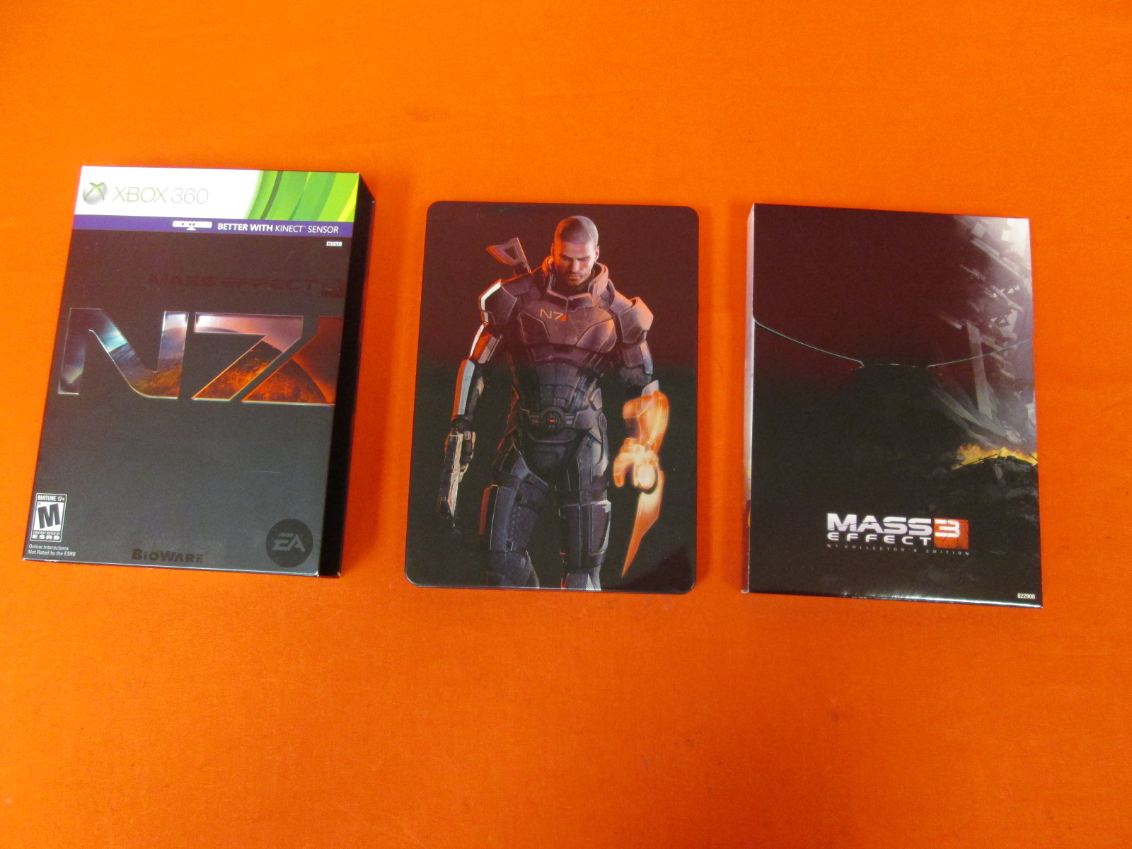 Box Accessories For Mass Effect 3 Edition For Xbox 360 Incomplete