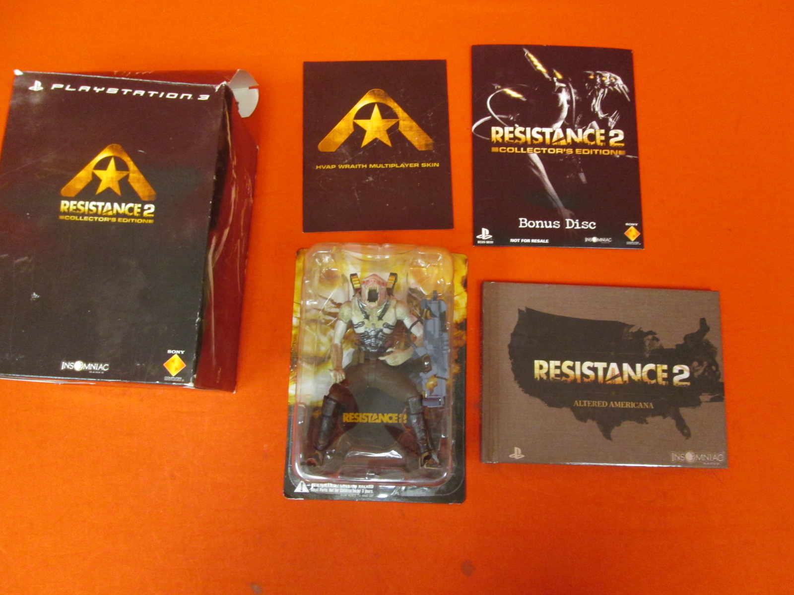Box Accessories For Resistance 2 Edition For PlayStation 3