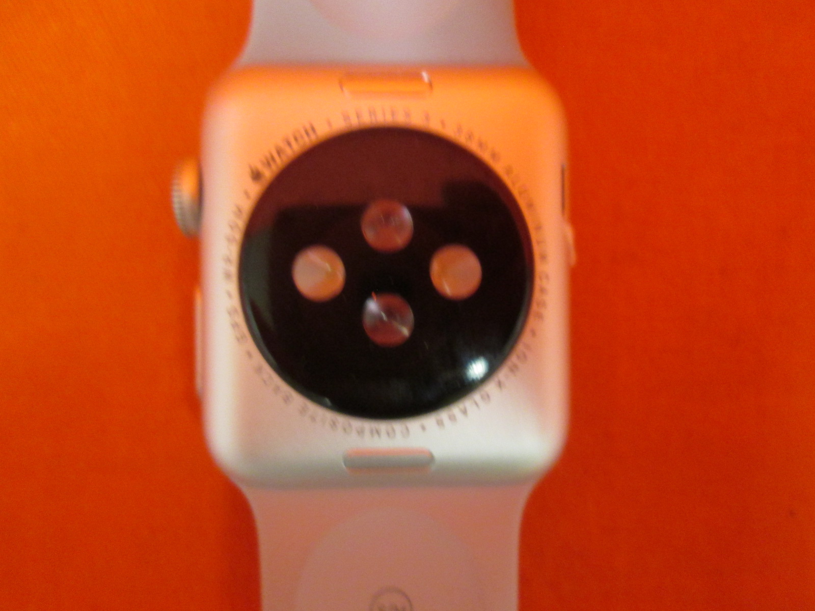 Image 1 of Apple Smart Watch 38MM Watch Series 3 Space Gray Aluminum Case With