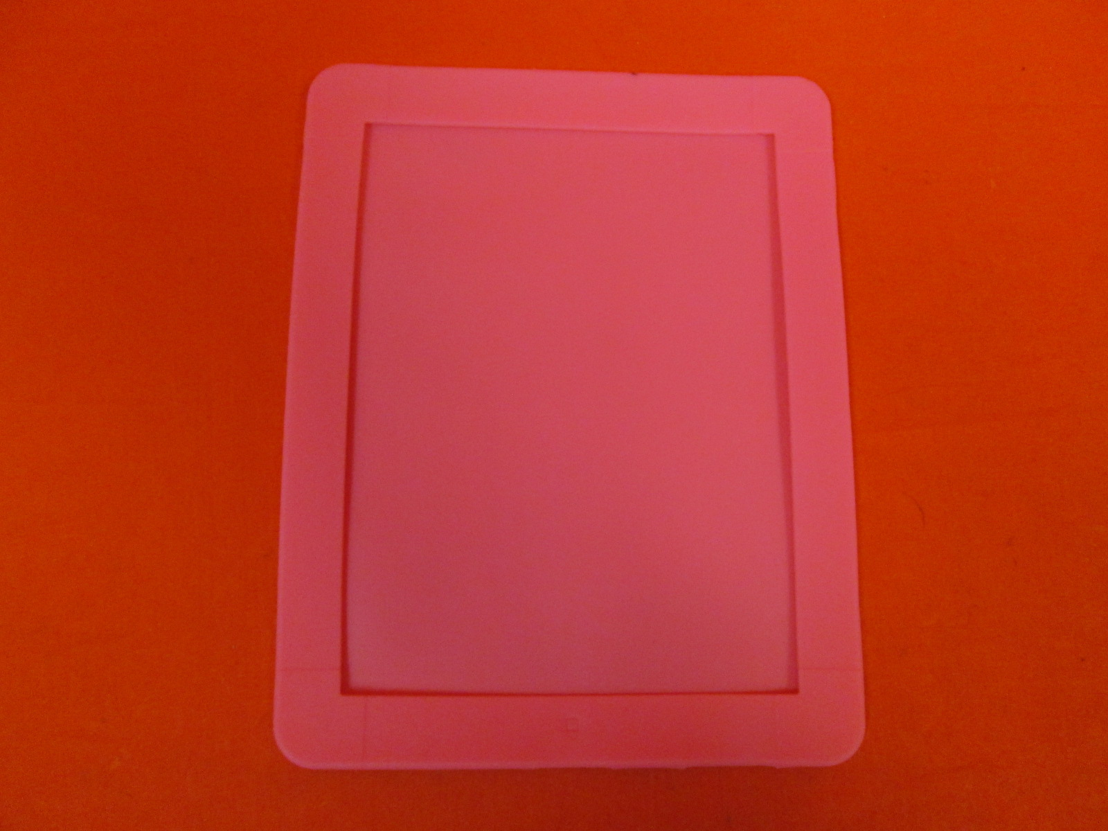 Netbook 12 Inch IP Silicon Case Clear Pink For Tablet