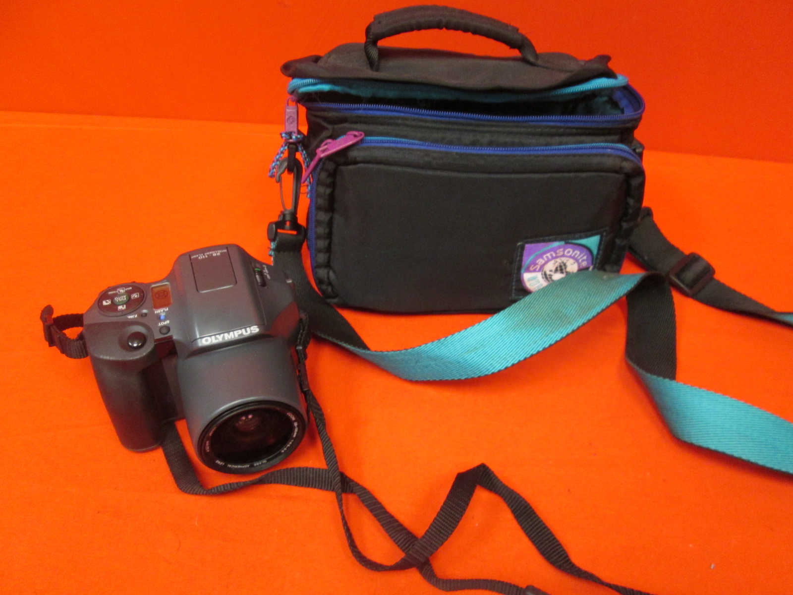 Olympus IS10 Film Camera With 28-110MM Af Zoom Lens And Travel Case