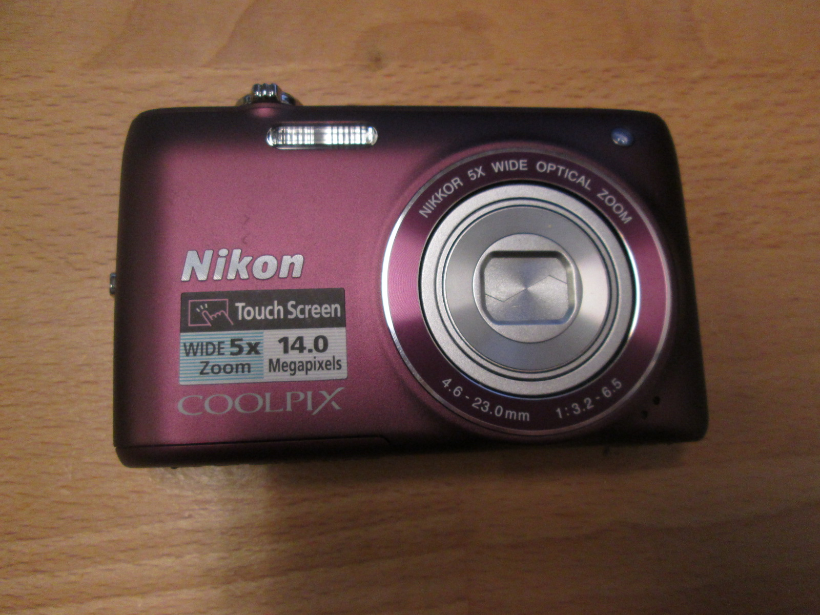 Nikon Coolpix S4100 14 MP Digital Camera With 5X Nikkor Wide-Angle