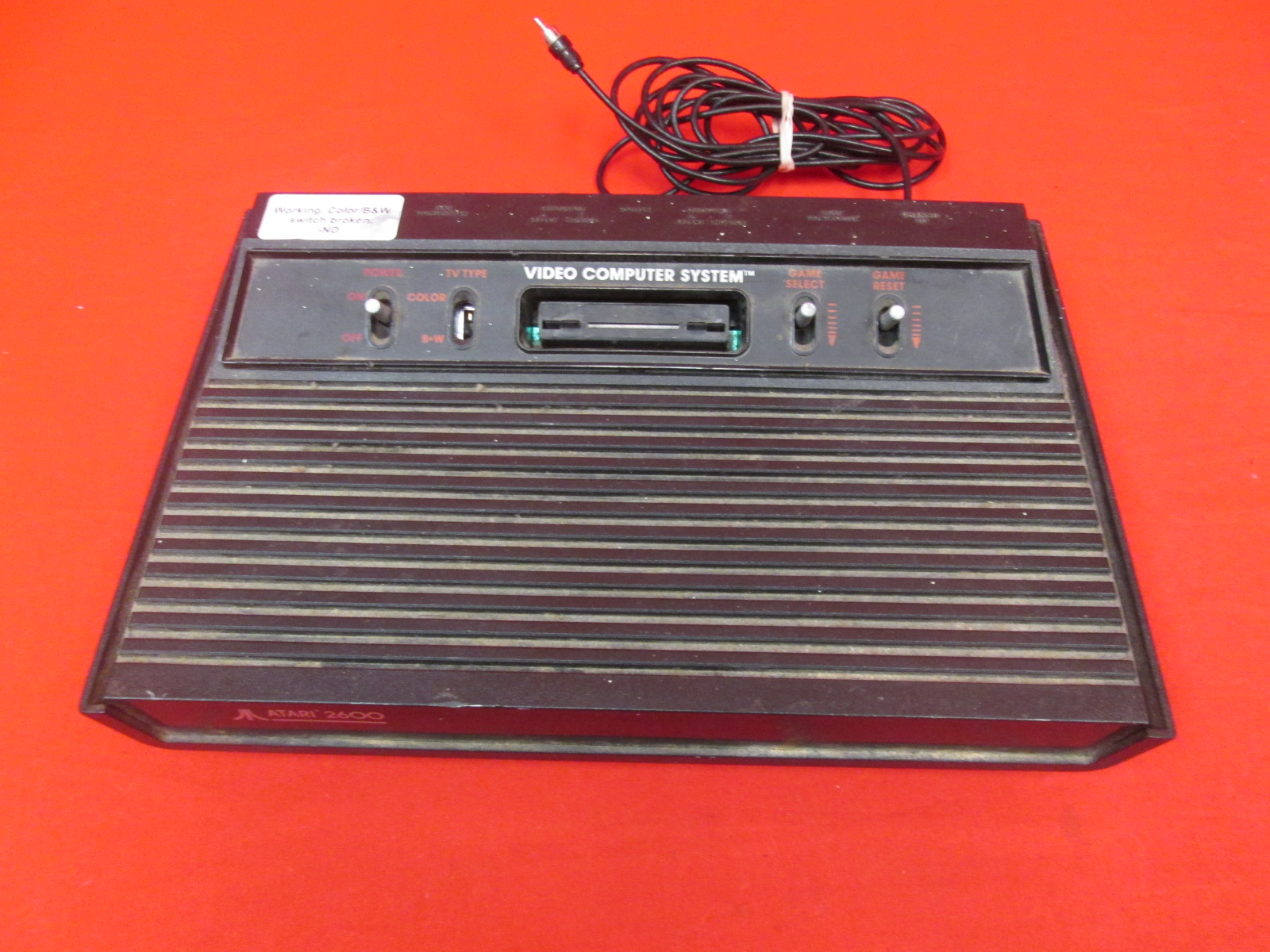 Atari 2600 Video Computer System Console Only