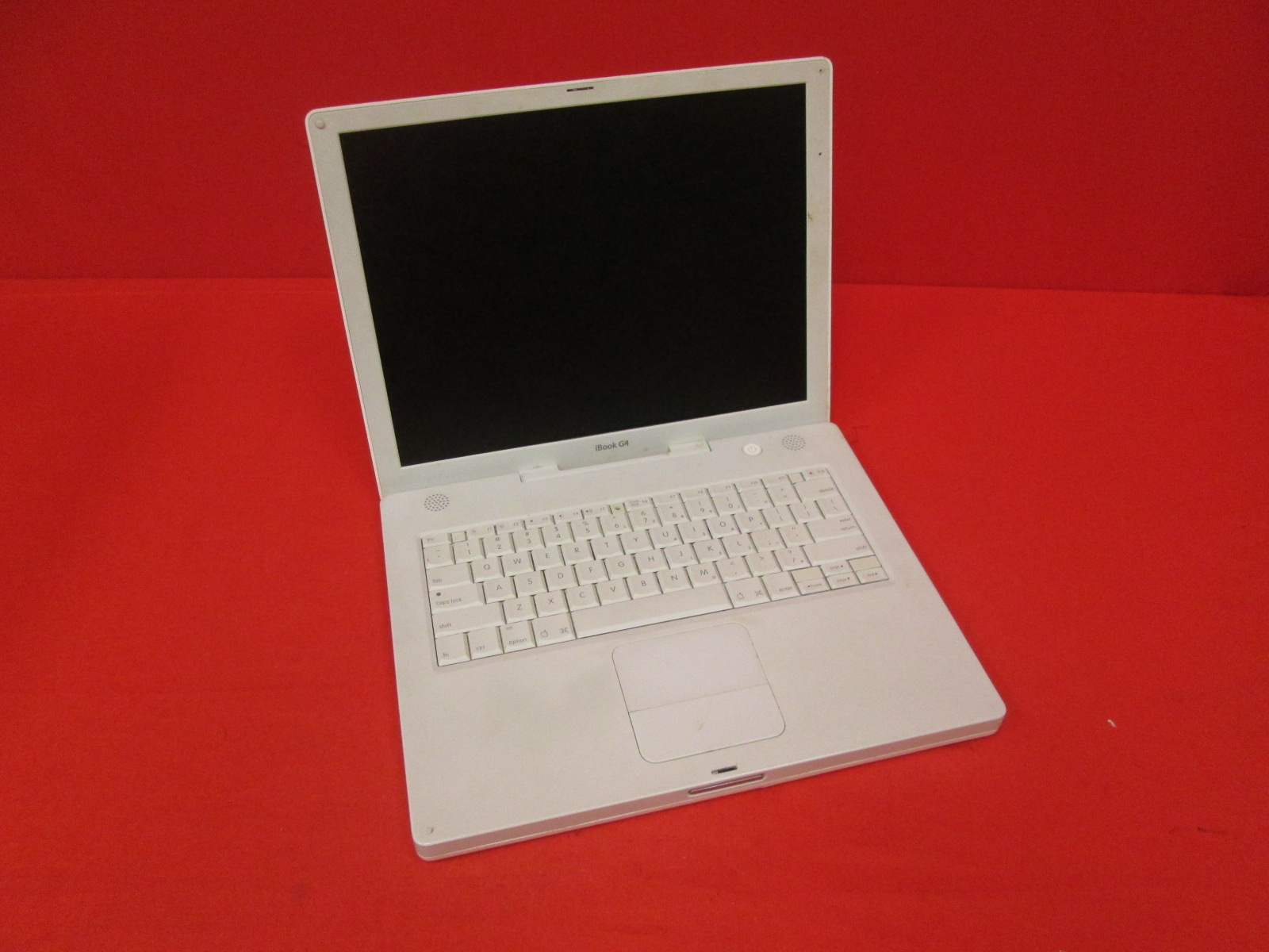 Apple Ibook G4 14.1-inch MAC Laptop 1.42 GHz 512MB 60GB A1134 Untested