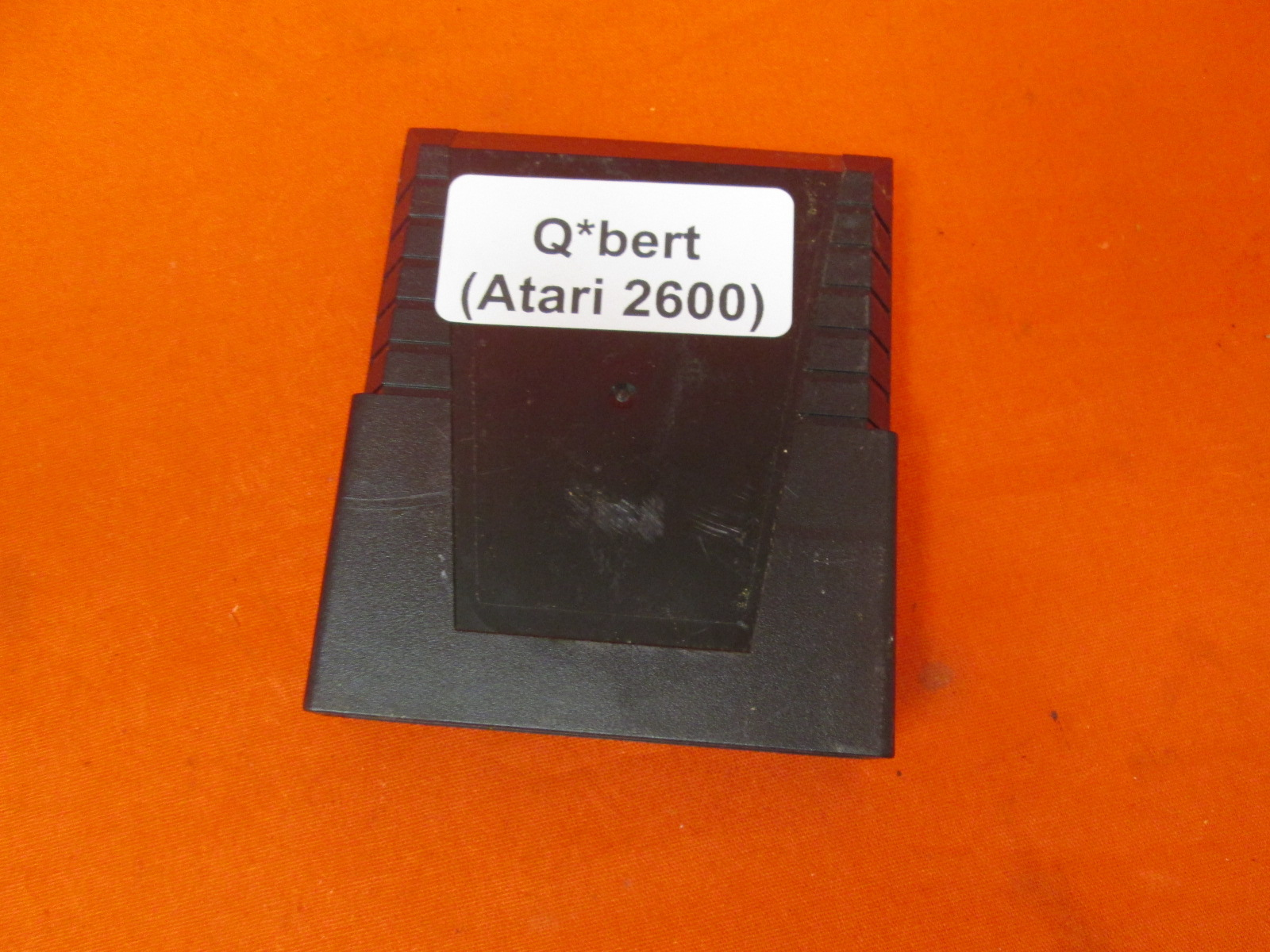Qbert Parker Brothers Video Game For Atari
