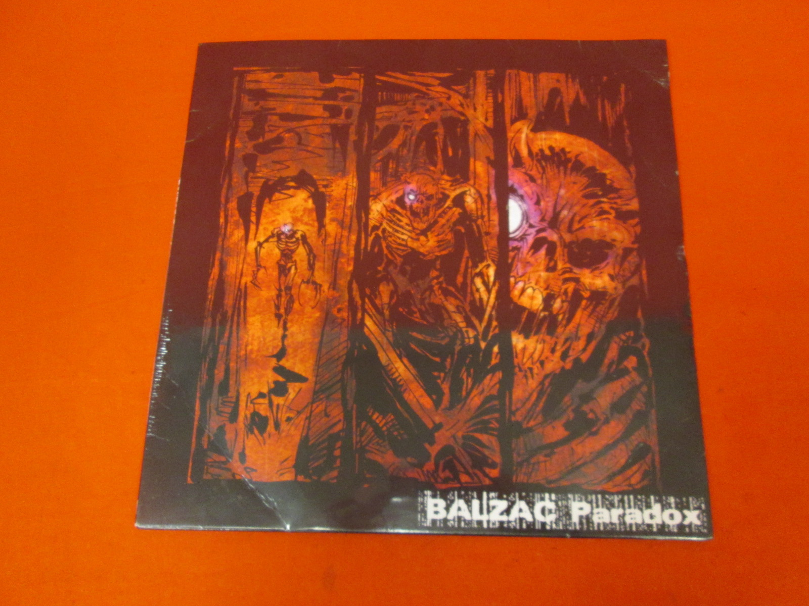 Paradox By Balzac On LP Vinyl Record
