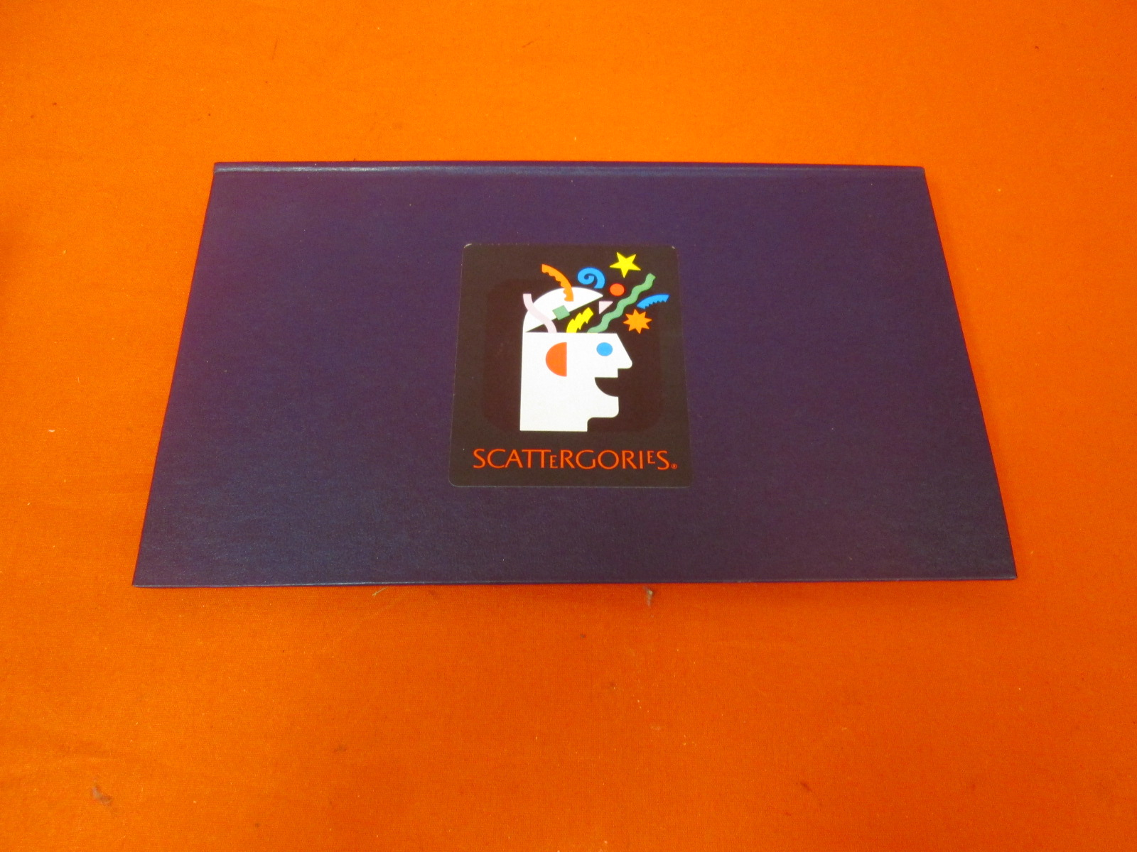 Image 0 of Replacement Folder Board For Scattergories Game
