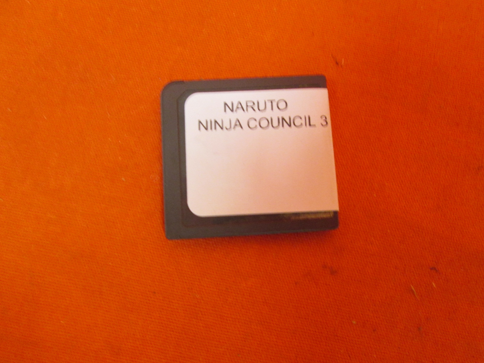 Naruto: Ninja Council 3 For Nintendo DS DSi 3DS 2DS