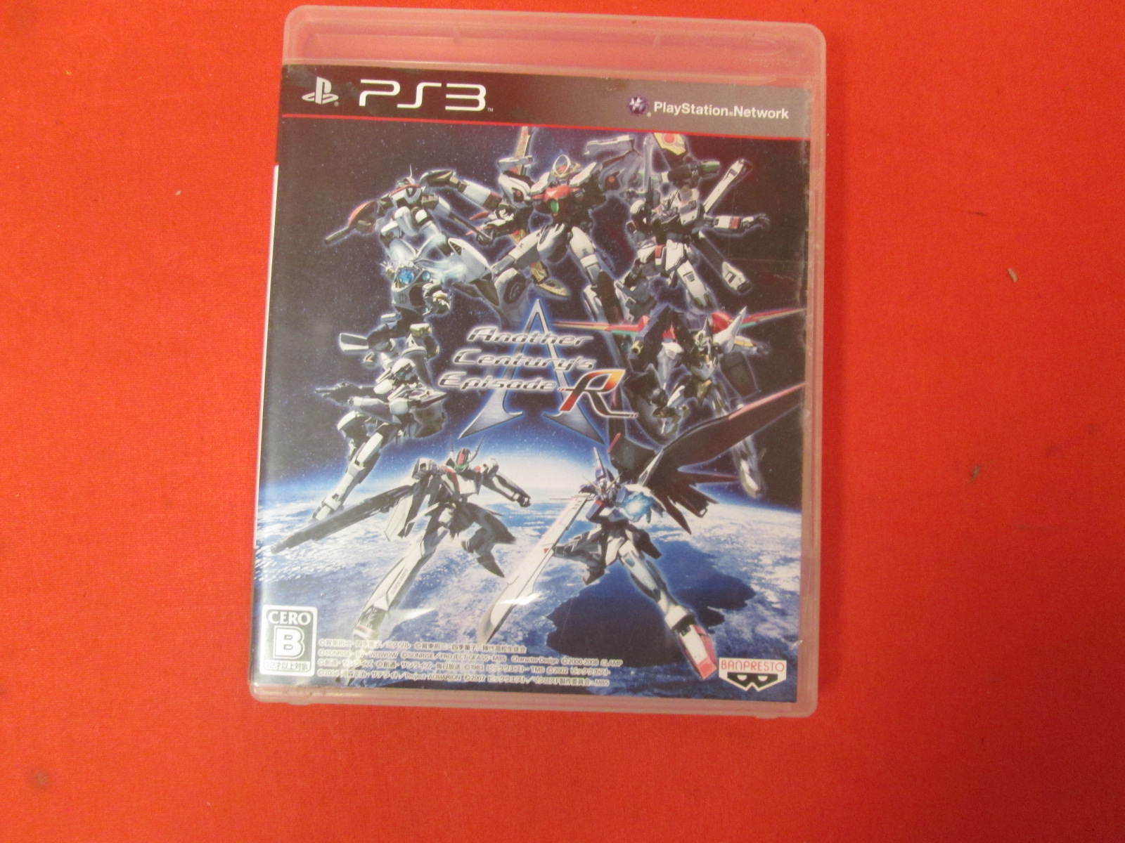 Ace: Another Century's Episode R PS3 Game Japanese Version For