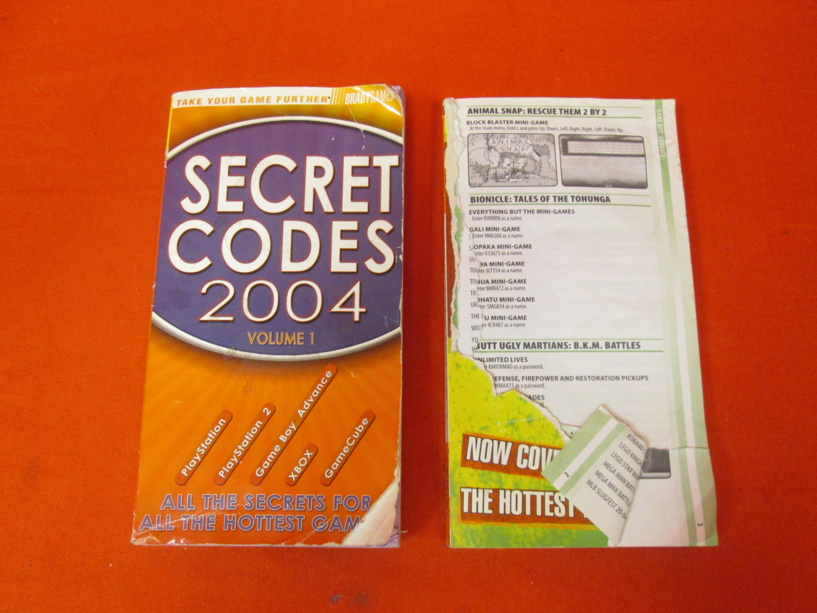 Image 0 of Secret Codes 2004 Volume 1 And Volume 2 By Bradygames Book