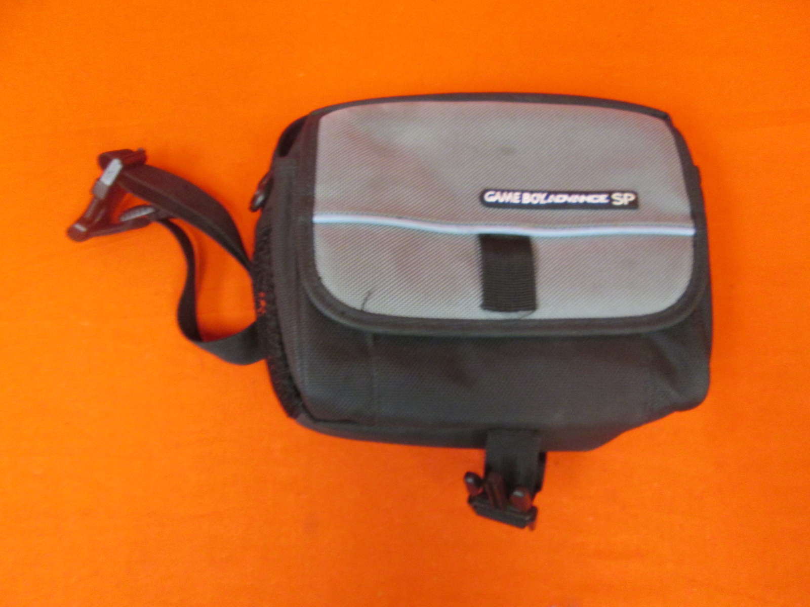 Image 0 of Video Game Travel Case For Gameboy Advance SP Black And Grey