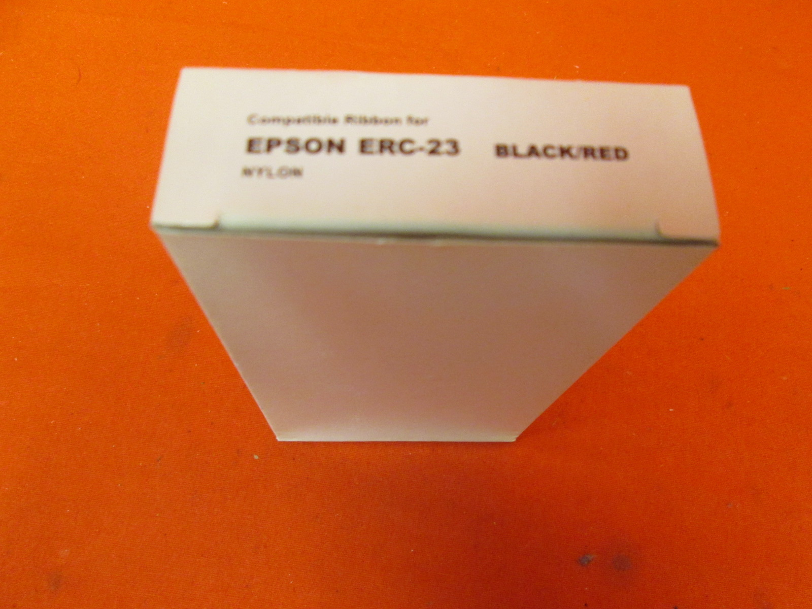 Image 1 of Epson Compatible ERC-23B/R Black/red Printer Ribbon Ink