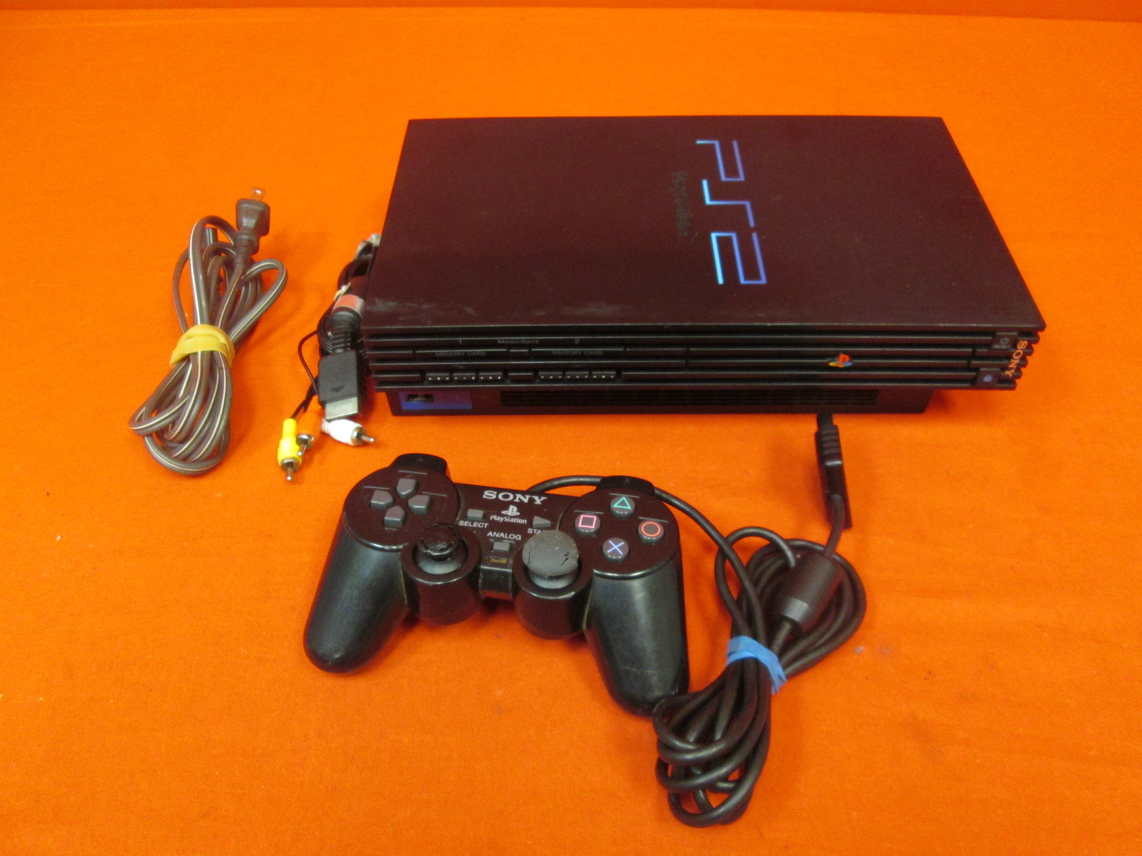 Image 0 of Sony PlayStation 2 Video Game Console With Controller