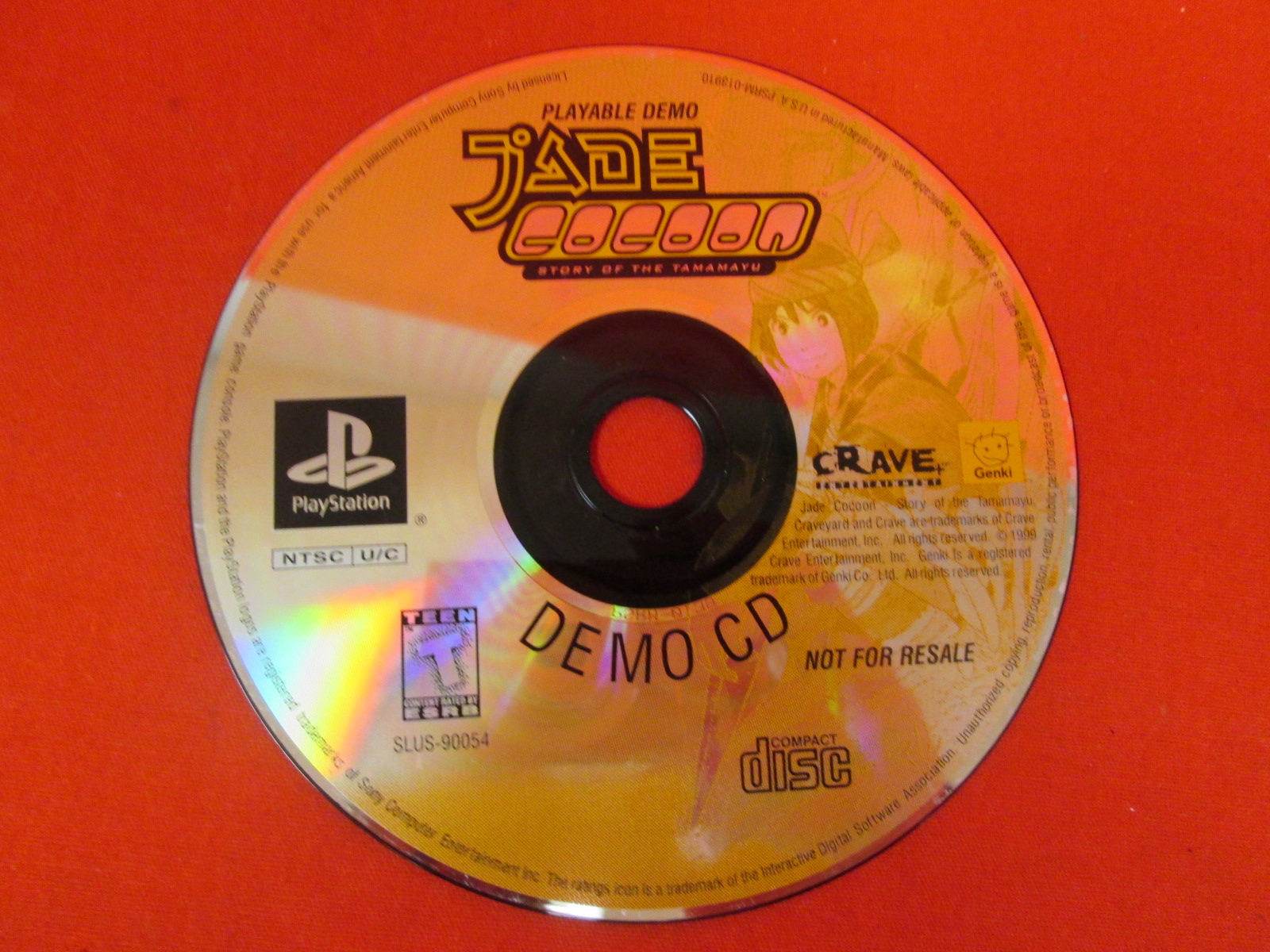 Demo CD Jade Cocoon: Story Of Tamamayu For PlayStation 1