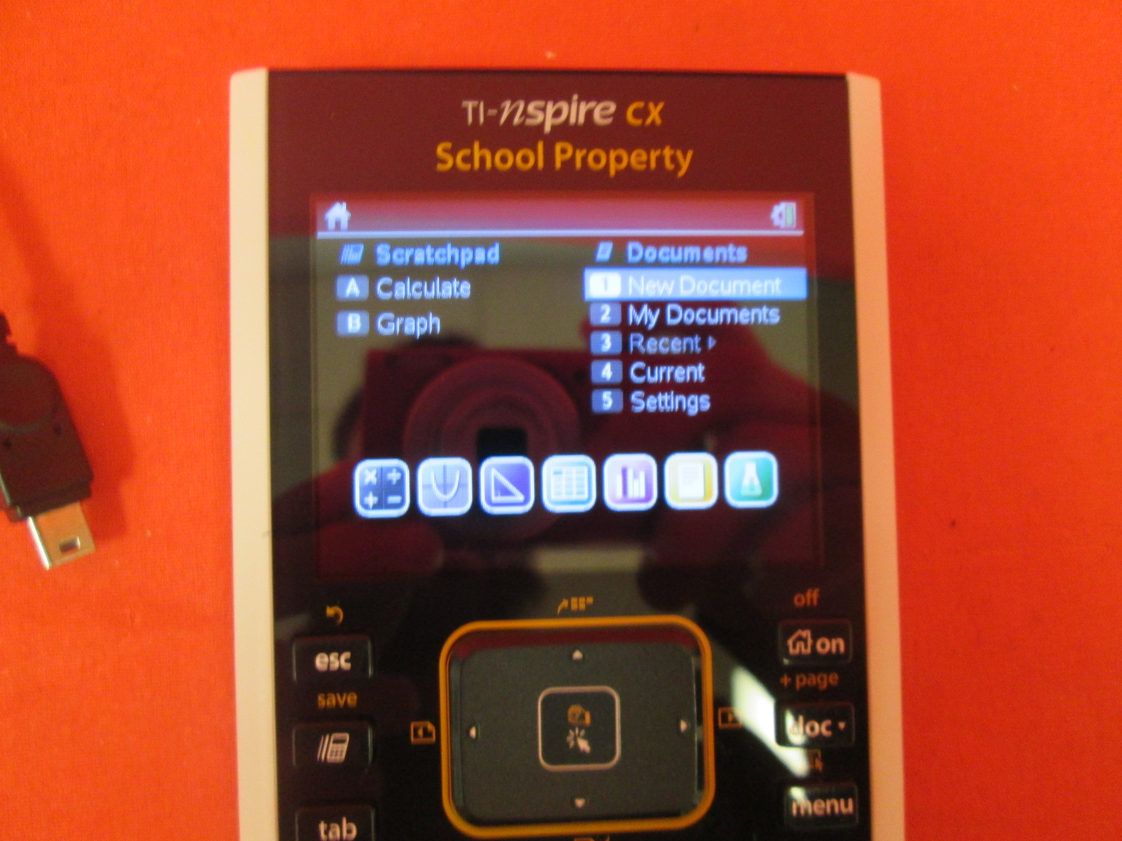 Image 1 of Texas Instruments Ti-Nspire Cx Color Graphing Calculator With Touchpad