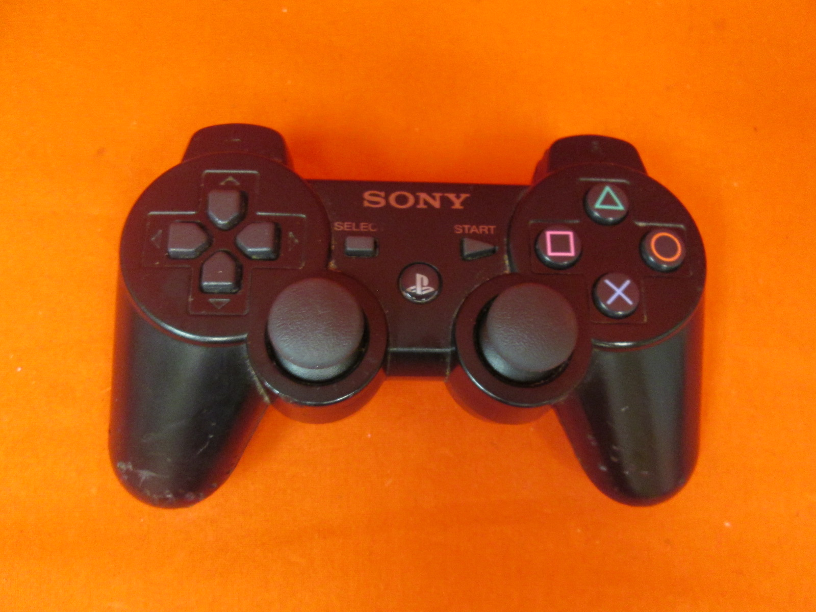 Sony Dualshock 3 Controller Black For PlayStation 3