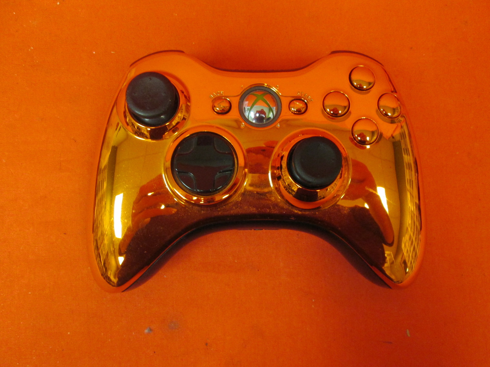 Xbox 360 Chrome Series Limited Edition Wireless Controller Red