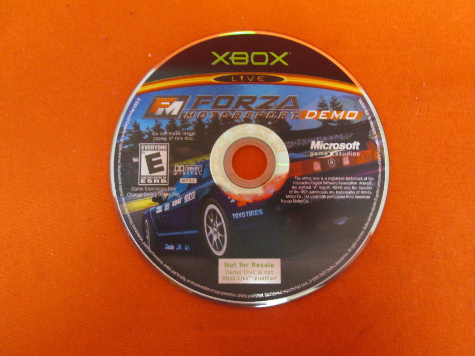 Image 0 of Forza Motorsport Demo Disc Only