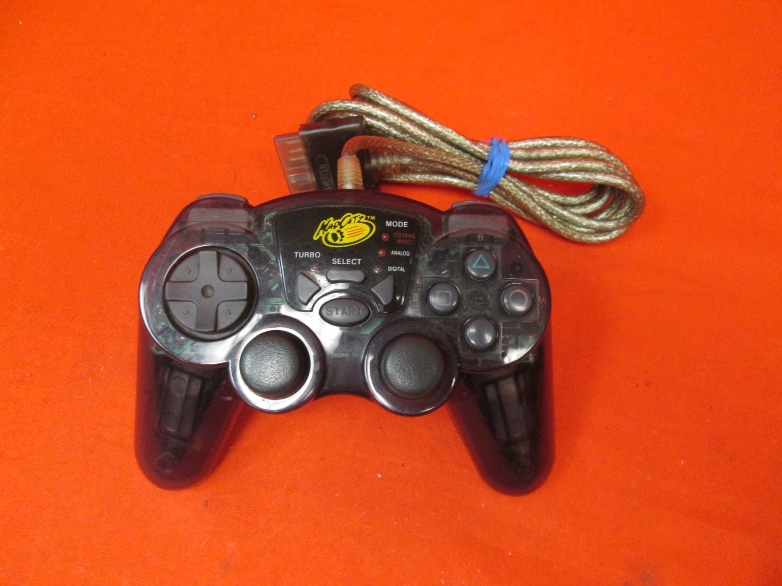 Mad Catz Wired Controller For PlayStation 2