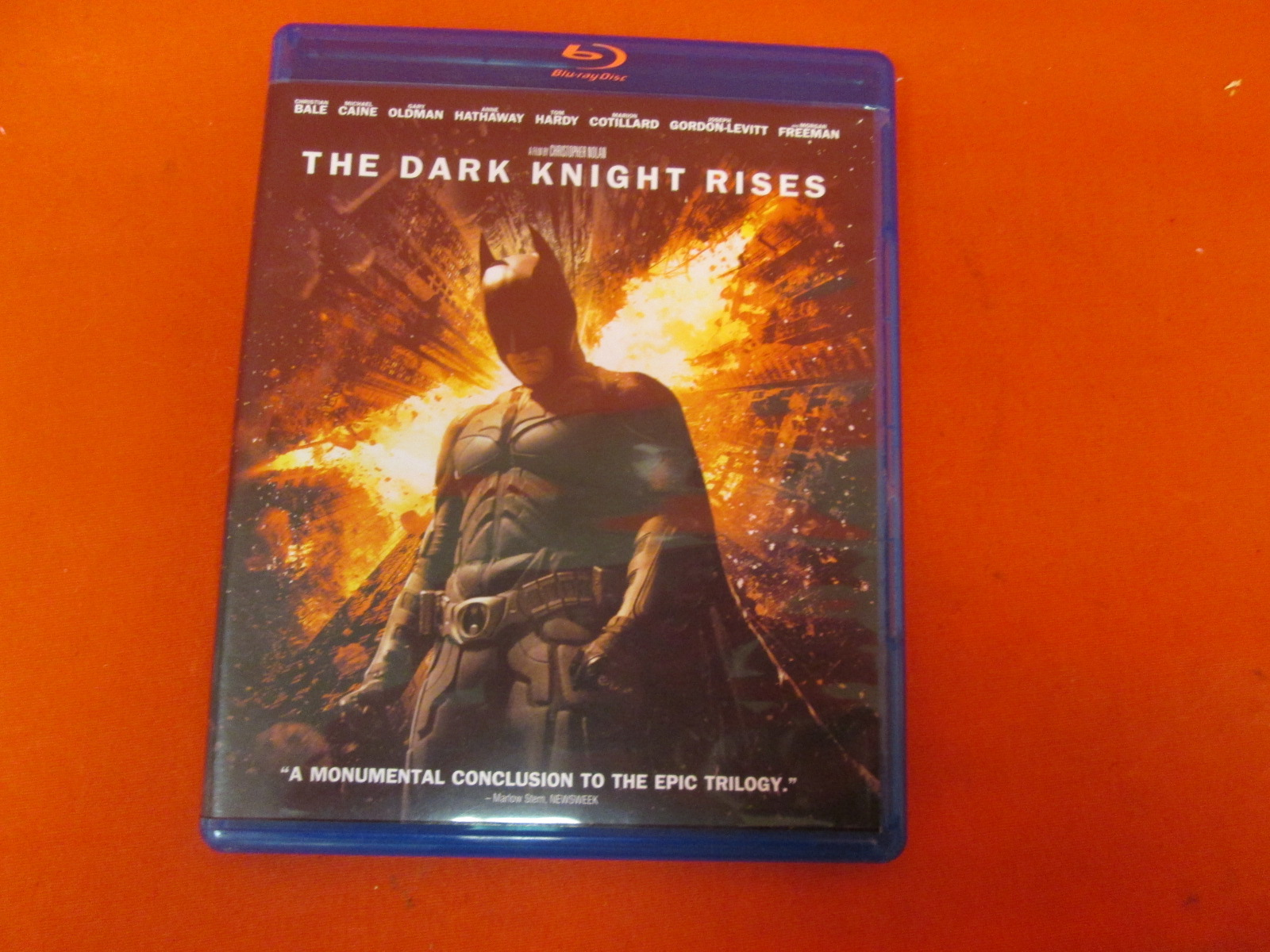 The Dark Knight Rises On Blu-Ray