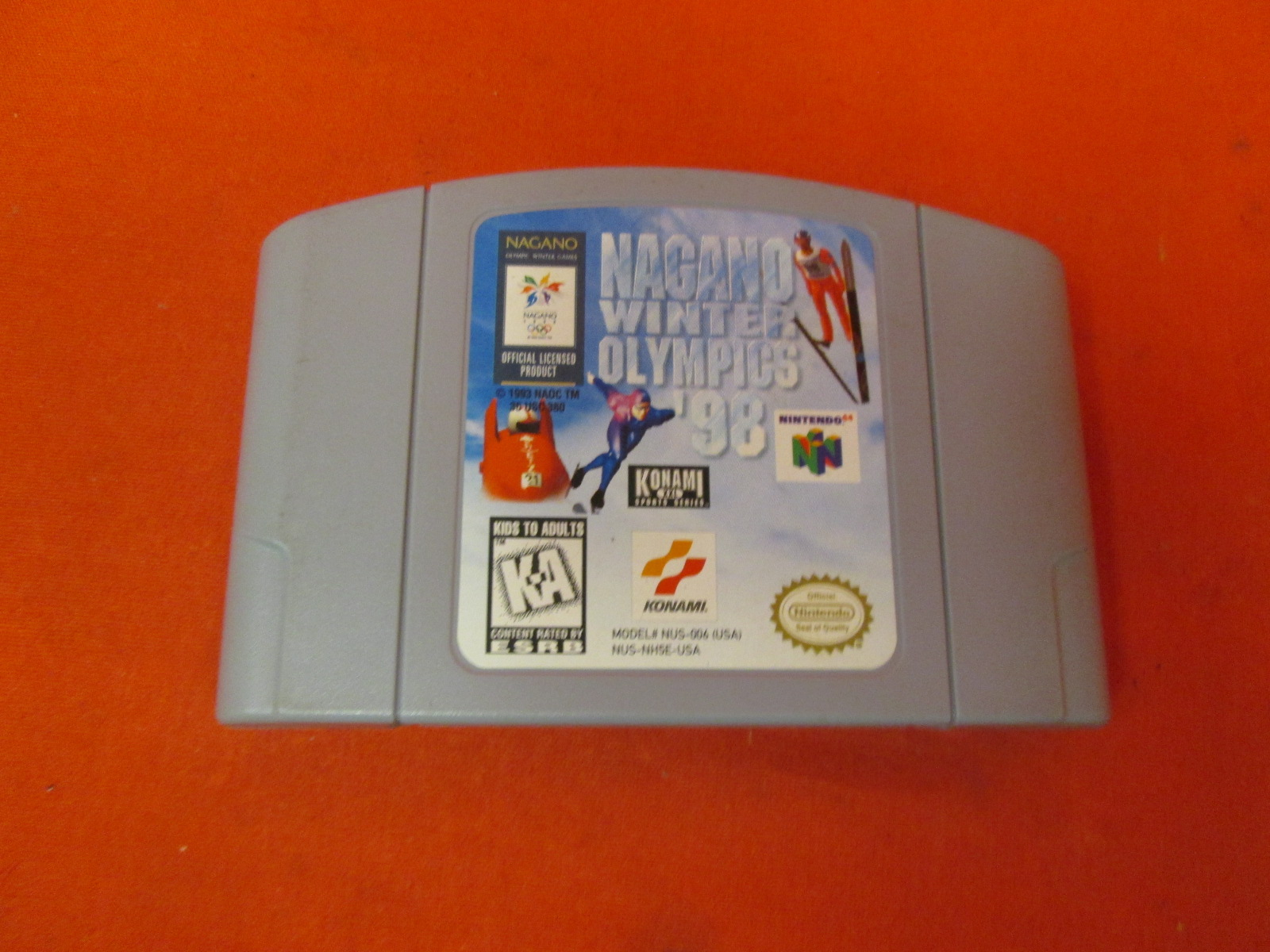 Image 0 of Nagano Winter Olympics 98 For N64