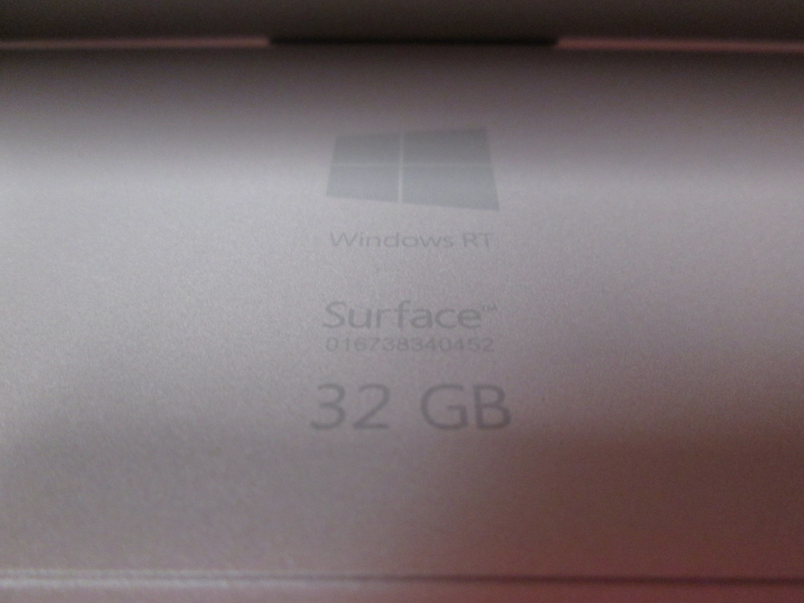 Image 1 of Microsoft Surface RT 32GB 10.6 Inch Tablet