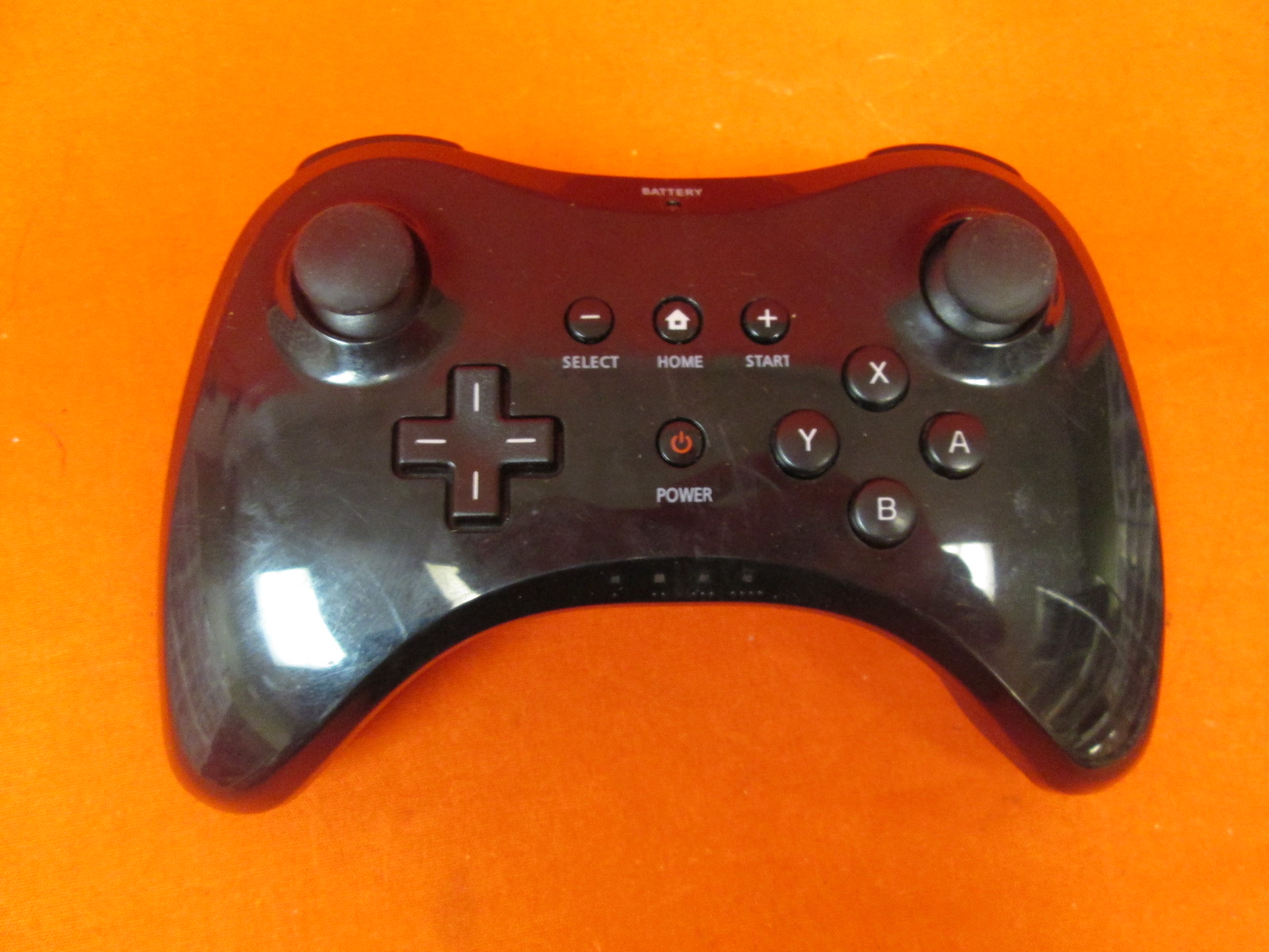 Image 0 of Pro Wireless Controller Black For Nintendo Wii U