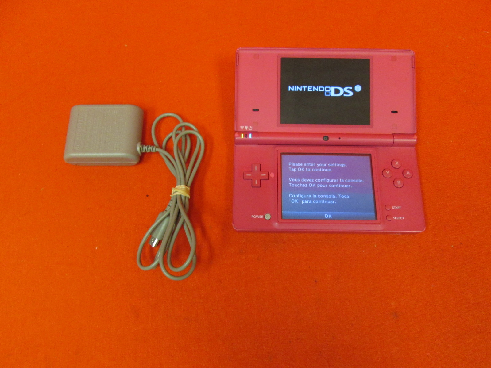 Image 0 of Nintendo DSi Handheld Portable Video Game Console Pink