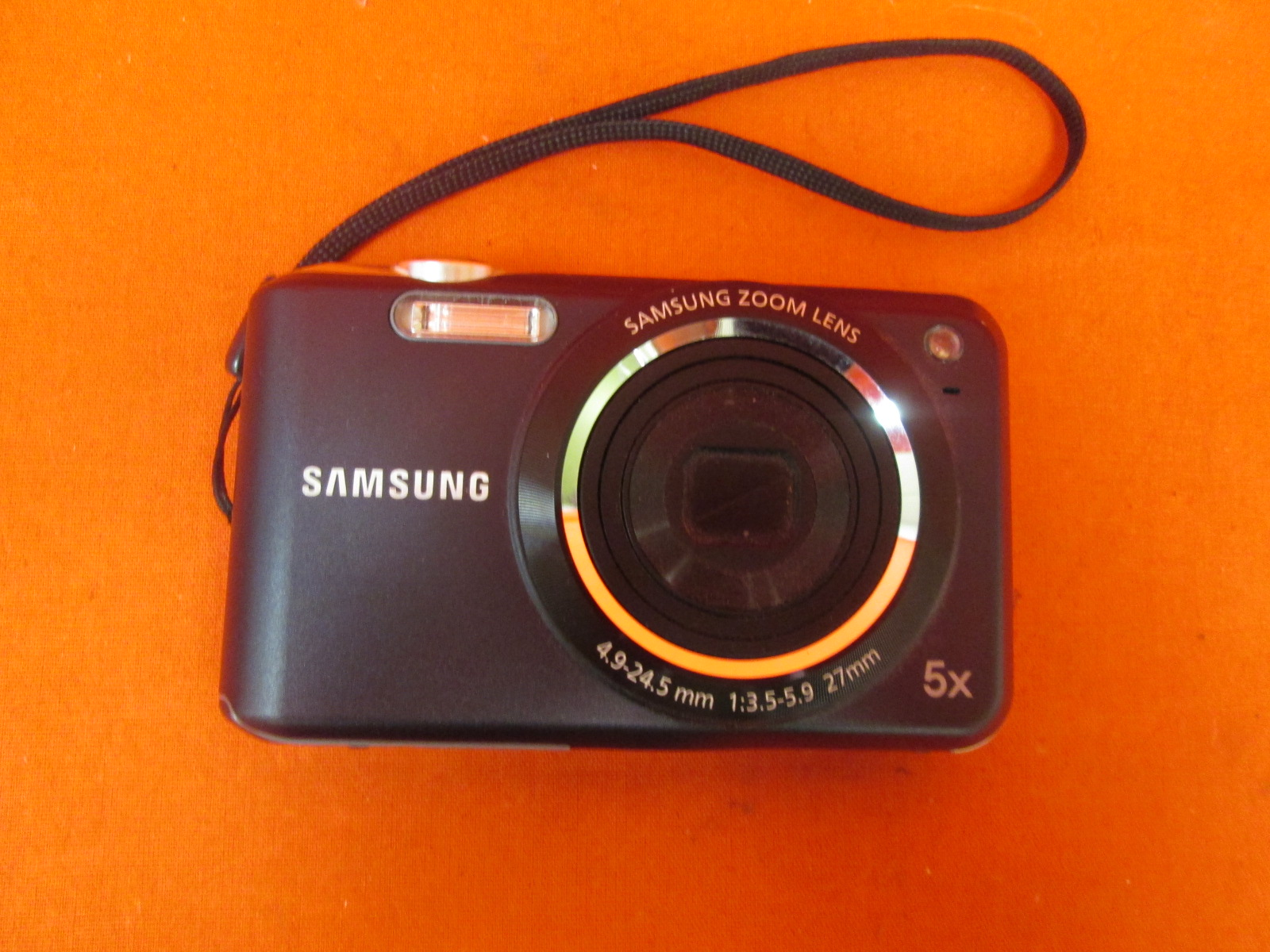 Samsung Sl Series SL600 12.1MP Digital Camera Incomplete