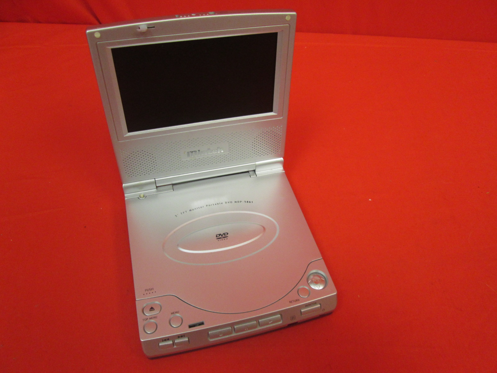 Image 0 of Mintek MDP-5861 Portable DVD Player 5 Inch Incomplete