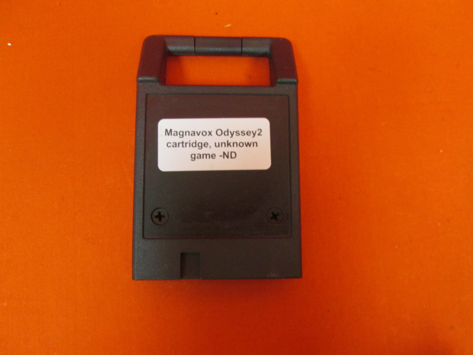 Magnavox Odyssey 2 Unlabeled Game Portable System