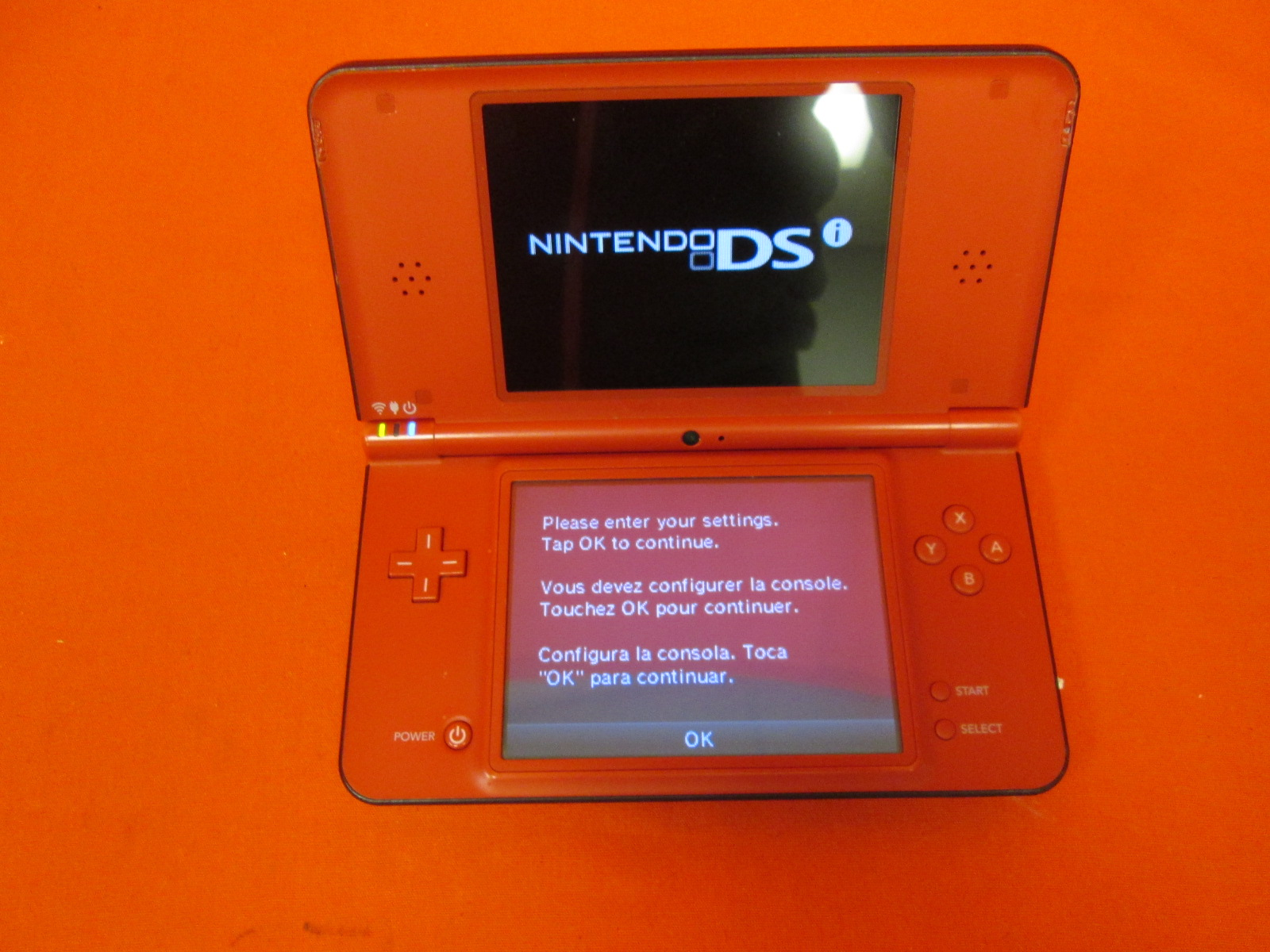 Image 0 of Nintendo DSi XL Red Super Mario Bros 25th Anniversary Edition By
