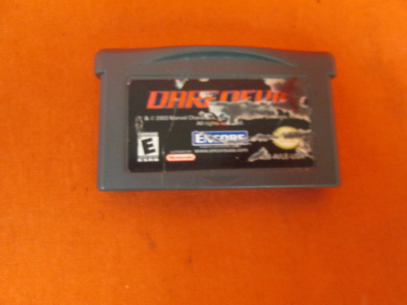 Daredevil: The Man Without Fear Game Boy Advance For GBA Gameboy