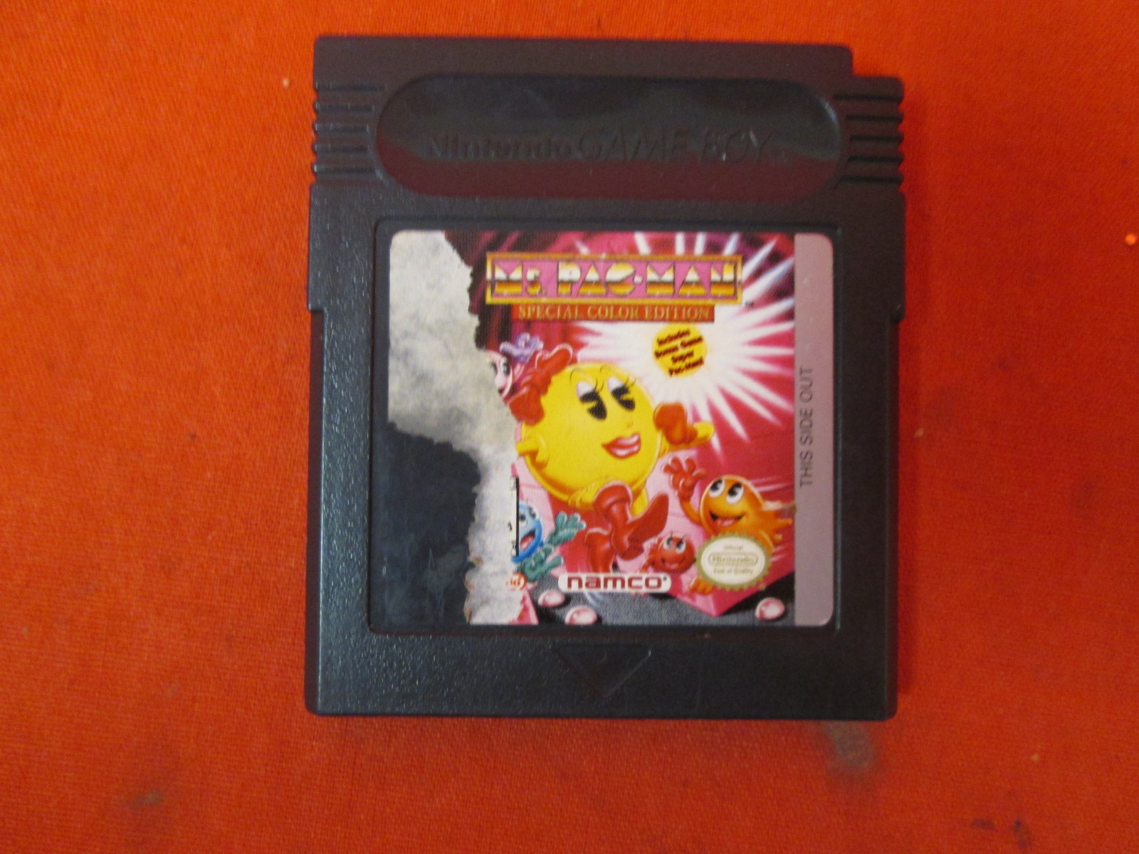 Ms Pac-Man On Gameboy
