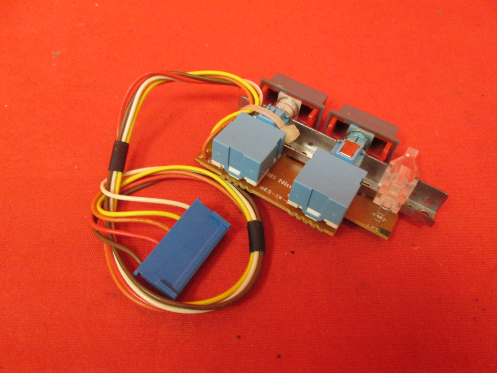 Nintendo OEM Replacement Power/reset Switch PCB With Power LED And