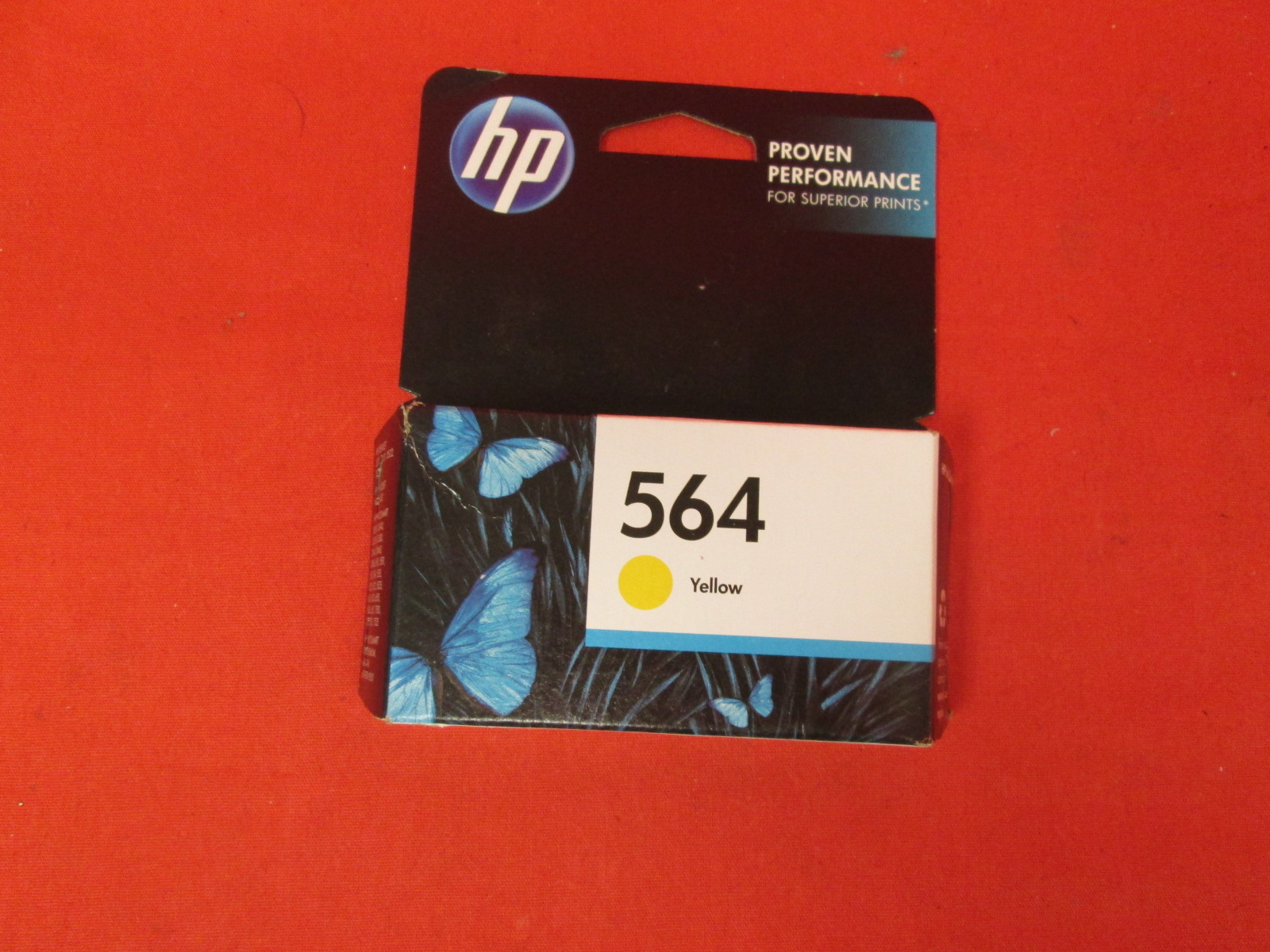 HP 564 Ink Cartridge Yellow CB320WN For HP Deskjet 3520 3521 3522 3526