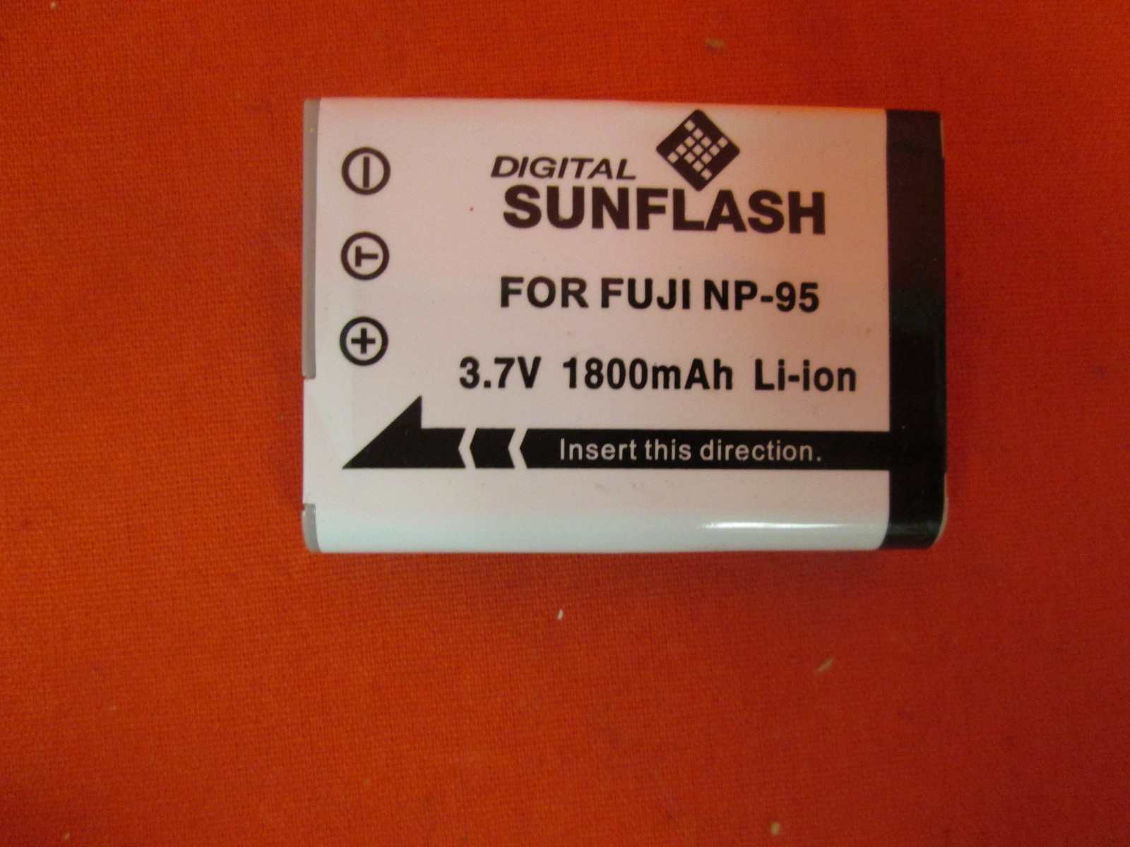 Digital Sunflash Li-Ion Battery For Olympus NP-95 Battery