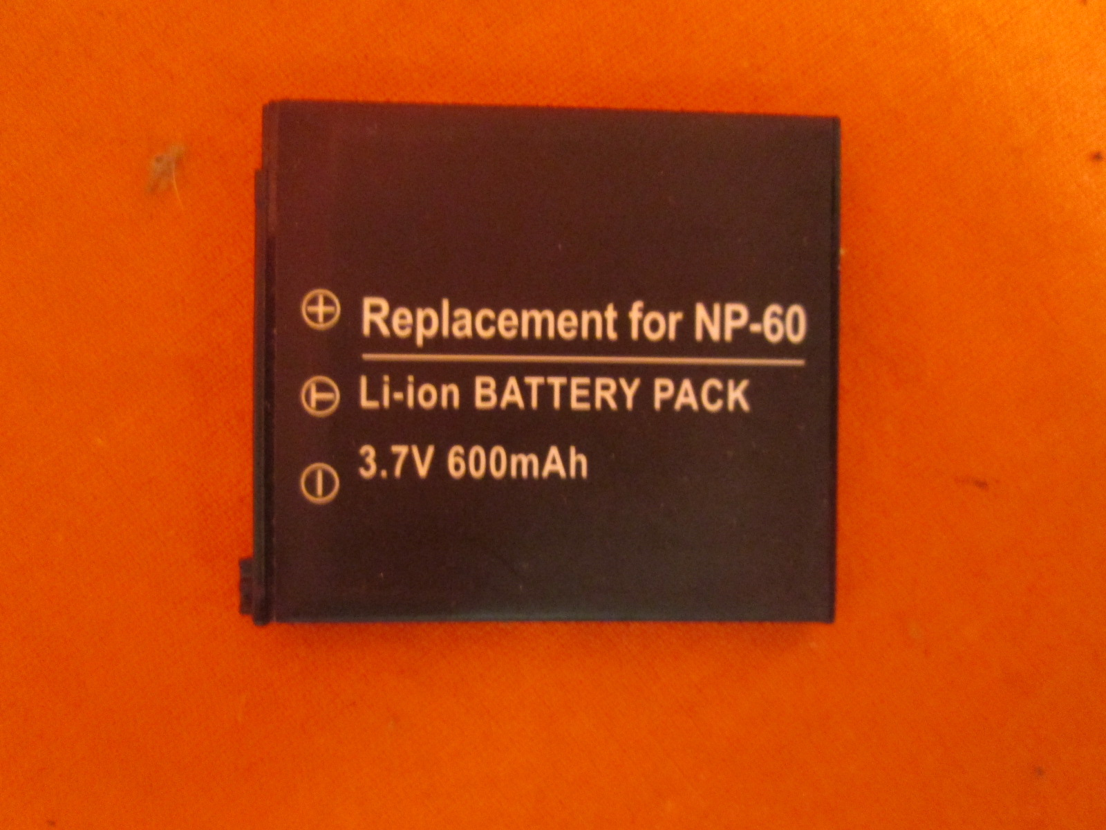 Replacement Generic NP-60 Li-Ion For HP Photosmart Cameras
