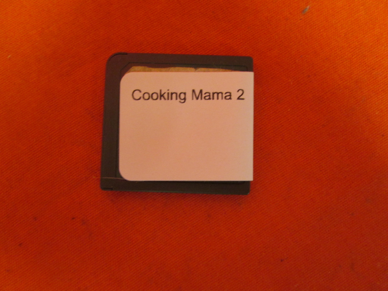 Cooking Mama 2: Dinner With Friends For Nintendo DS DSi 3DS 2DS
