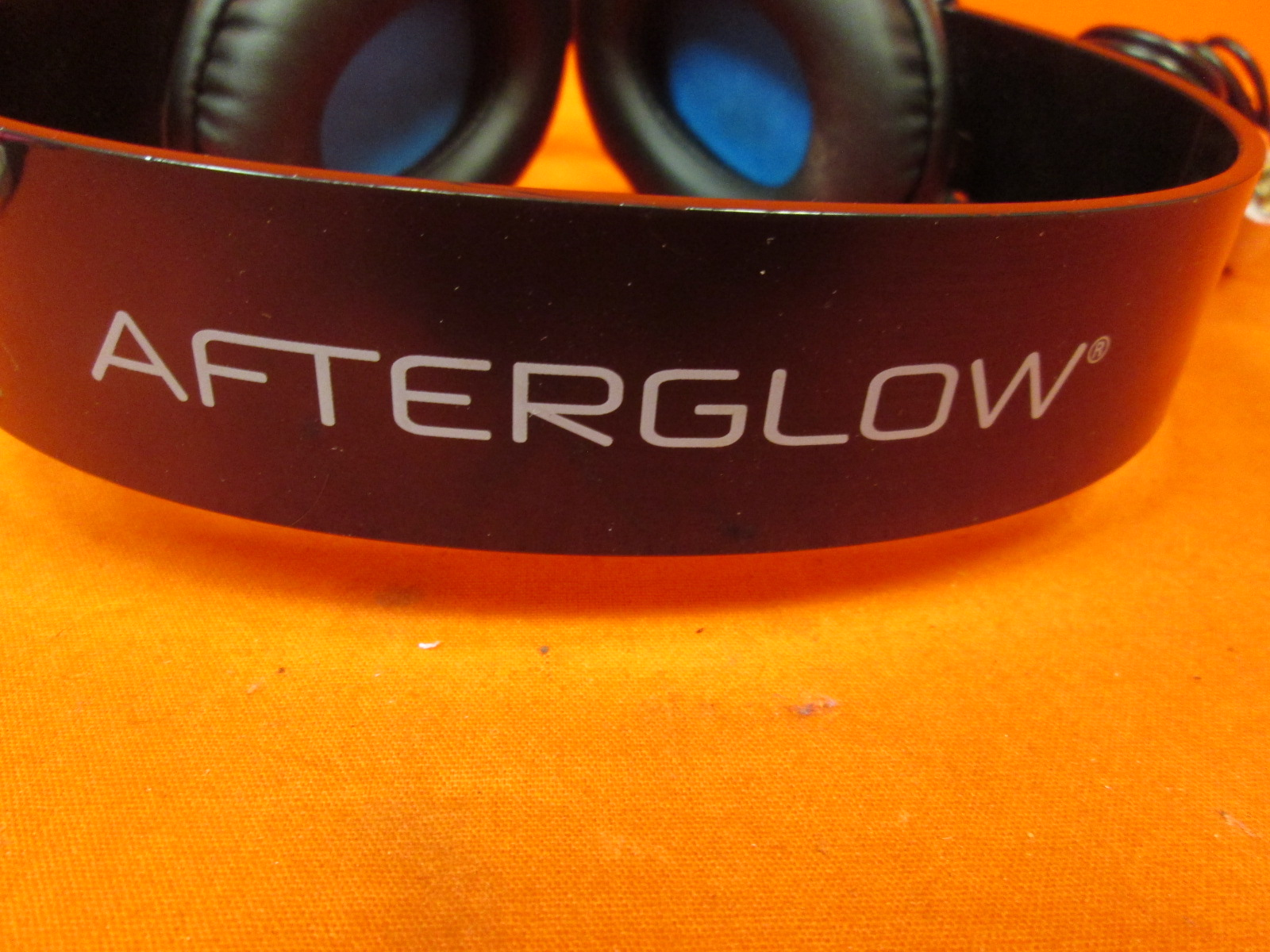 Image 1 of Afterglow AGX.50 Licensed Headset For Xbox 360 Blue Incomplete