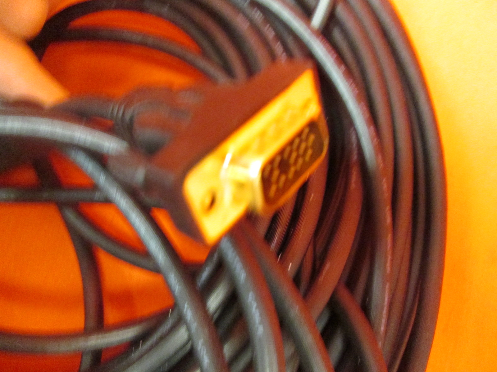 Image 1 of VGA To VGA Cable Svga Cable 50 Feet Available 3FT 100 Ft In Length