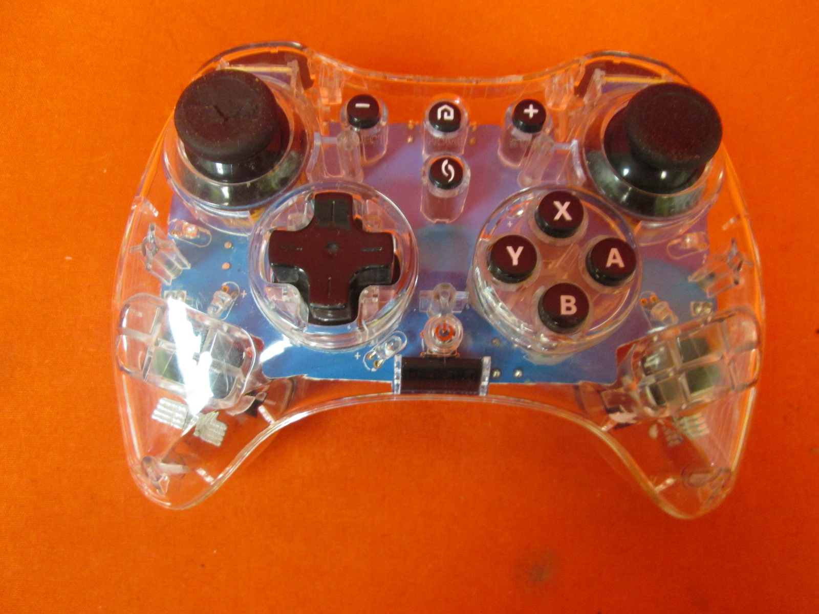 Image 0 of Afterglow Pro Controller For Wii U Blue