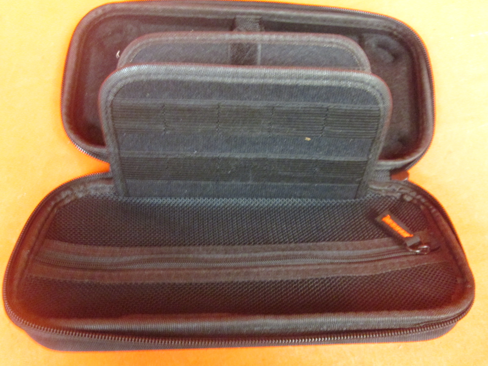 Image 1 of Nintendo Switch Carrying Case Protective Deluxe Travel Case Black