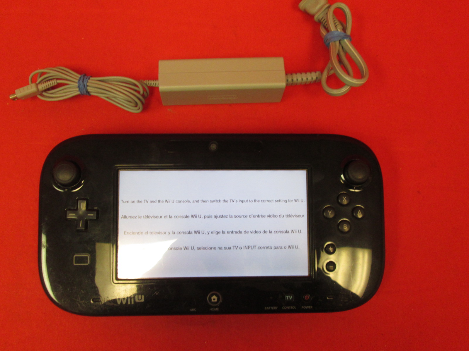 Image 0 of Nintendo WUP-010 Wii U Gamepad Black