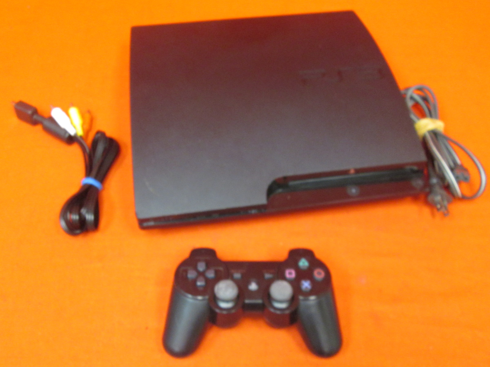 Image 0 of Sony PlayStation 3 Slim 320 GB Charcoal Black Console With Controller